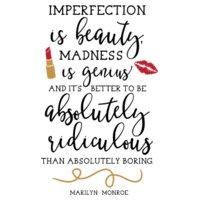 Imperfection Is Beauty SVG