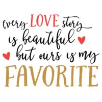 Every Love story is Beautiful SVG